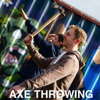 Axe Throwing Stag