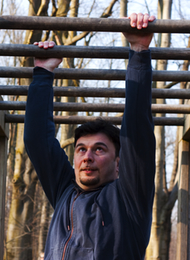 Assault Course, Groom from a stag do going for it