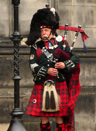 Bag Pipe Player