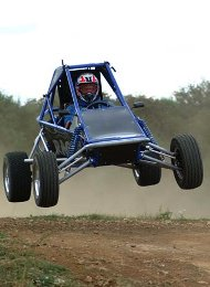Rage Buggy in the Air Driver is a groom from a stag party