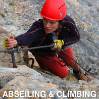 Abseiling and Climbing