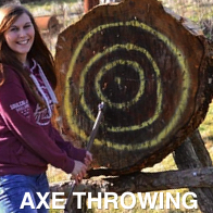 Axe Throwing Hen