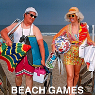 Beach Games Couple
