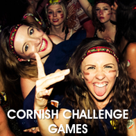 Hen Party Taking Part in Cornish Games