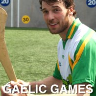 Man Playing Gaelic Games