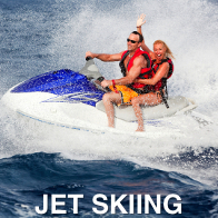 Jet Skiing Couple