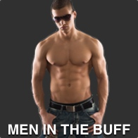 Half naked buff man