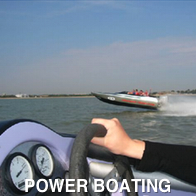Onboard a Powerboat