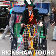 Rickshaw Tours London