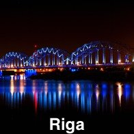 Riga At Night