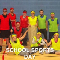 School Sports Day Group