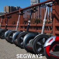 Segways in a Line