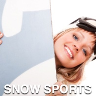 Female Snow Boarder