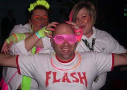 Neon Fancy Dress Group