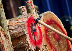 Axe Throwing Target and Axe