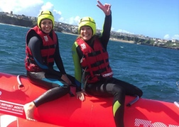 Banana Boat Ride Newquay