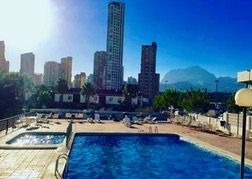 Benidorm Apartment Pool