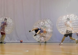 Bubble Football Stag Do Activity Prague