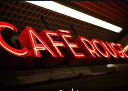 Cafe Rouge Sign