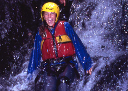 Canyoning in North Wales