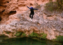 Canyoning in Valencia