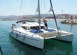Catamaran Ready to sail
