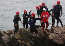 A Group Coasteering