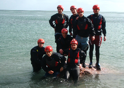 Stag Group Coasteering in Torquay