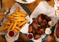 Chips and wings