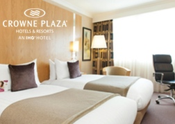 Crowne Plaza Reading Twin Room