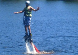 Fly Boarding in Riga
