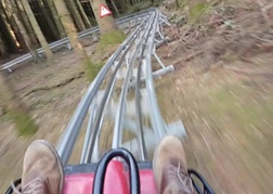 The Track Forest Coaster In North Wales