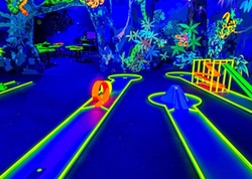 Glow Golf Course in Hamburg