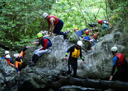 stag group Gorge Scrambling