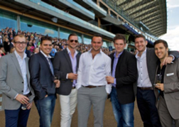 Stag Party At Ascot Racecourse