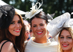Horse Racing Epsom Derby Hens Group