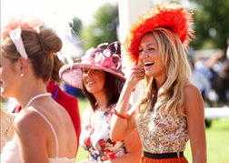Horse Racing Newbury Ladies