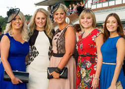 Ladies at the Wolverhampton Horse Races