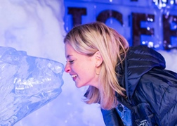 Hen party at the ice bar