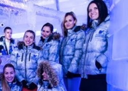 Hen party at the Ice Bar Bratislava