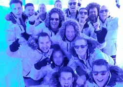 stag party at the Ice Bar Bratislava