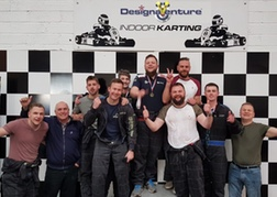 Indoor Karting Stag Party in Torquay