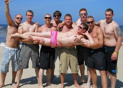 Stag Do on the Jurmala Beach Riga