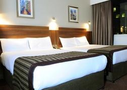 Twin Room at Jurys Inn Birmingham
