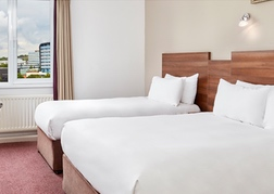 Jurys Inn Newcastle Twin Room
