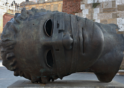 Head Statue in Krakow