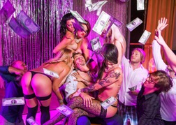 Stag Party at a Lap Dancing Club Prague