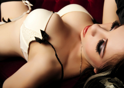 Lap Dancer lying down