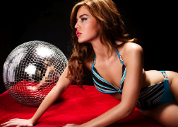 Lap Dancer and Glitter Ball