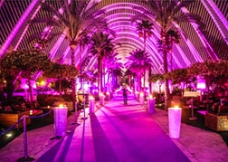 Umbracle nightclub in Valencia
